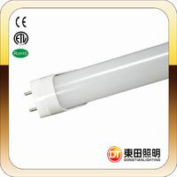 Easy installation 600mm 8W high bright ce&rohs  T8 led tube DTR830