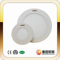 High Brightness 6W Circle Flush Mounted led Panel light DTP040NW